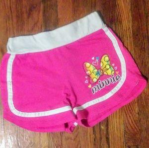 Disney Minnie Mouse Pink Shorts Juniors